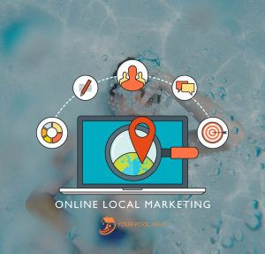 online local marketing swimming pool business